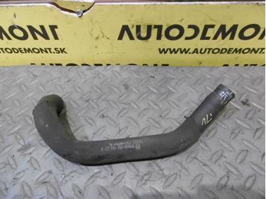 Ventilation hose 059103221K 059103221AA - Audi A6 C6 4F 2006 Avant Quattro 3.0 TDI 165 kW BMK HVE