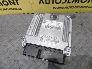 Engine control unit 4F0907401B 4F0910402L 0281013175 1039S14261 - Audi A6 C6 4F 2006 Avant Quattro 3.0 TDI 165 kW BMK HVE