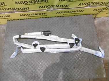 Right roof head airbag 4F9880742A - Audi A6 C6 4F 2006 Avant Quattro 3.0 TDI 165 kW BMK HVE