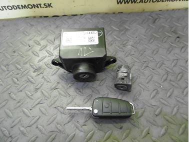 Locks & Key 4F0909131D 4F0910131D 4F0837063 4F0837220D - Audi A6 C6 4F 2006 Avant Quattro 3.0 TDI 165 kW BMK HVE