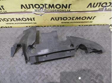 Left radiator cover & air guide 4F0121283 - Audi A6 C6 4F 2006 Avant Quattro 3.0 TDI 165 kW BMK HVE