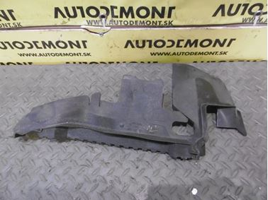 Right radiator cover & air guide 4F0121284 4F0121284AS - Audi A6 C6 4F 2006 Avant Quattro 3.0 TDI 165 kW BMK HVE