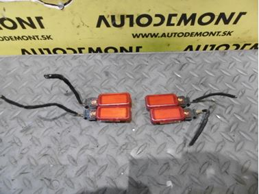 Door warning lights 8D0947411 - Audi A6 C6 4F 2006 Avant Quattro 3.0 TDI 165 kW BMK HVE