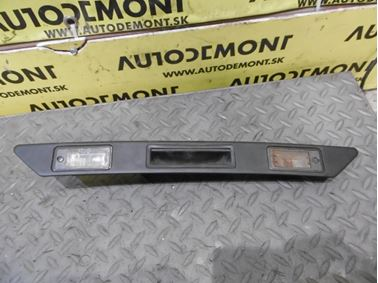License Plate Light Unit 8P4827574 8E0807430A 8E0807430B - Audi A6 C6 4F 2006 Avant Quattro 3.0 TDI 165 kW BMK HVE