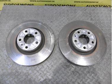 Front brake discs 4F0615301E - Audi A6 C6 4F 2006 Avant Quattro 3.0 TDI 165 kW BMK HVE