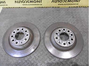 Rear brake discs 4F0615601E - Audi A6 C6 4F 2006 Avant Quattro 3.0 TDI 165 kW BMK HVE