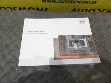 MMI Bedienungsanleitung 4F0 4F - Audi A6 C6 4F 2006 Avant Quattro 3.0 TDI 165 kW BMK HVE