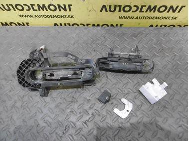 Front left door handle 4F0837207 4F0837207B 4F0837885 4F1837897 - Audi A6 C6 4F 2006 Avant Quattro 3.0 TDI 165 kW BMK HVE