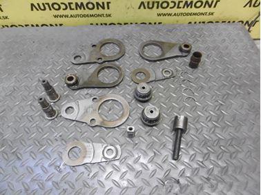 Timing Belt Kit Holders 07Z103222 07Z109216A 07Z109216E 07Z109225C 07Z109215D N90986401 07Z109281C 07Z103324D 07Z109324E - Volkswagen VW Touareg 7L 2005  5.0 Tdi V10 230 kW BLE HAQ