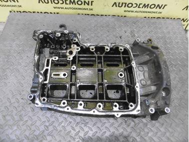 Oil sump - upper 1C1Q6U003AD - Ford Mondeo MK3 2002 hatchback 2.0 TDDi 85 kW
