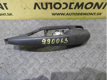 Left rear door handle 51218216121 8216125 - BMW E46 2000 320 d 2.0 Tdi 100 kW