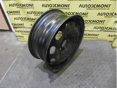"Steel wheel 15"" 6Jx15H2 ET38 5/100 1J0601027H - Skoda Octavia 1 1U 2002 Limousine Elegance 1.9 Tdi 81 kW ASV EGS"