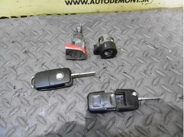 Locks & Key 1U0 1U 1J0959753AG 4D0905855G 3B4839879A - Skoda Octavia 1 1U 2002 Limousine Elegance 1.9 Tdi 81 kW ASV EGS