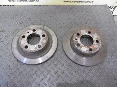 Rear brake discs 1U0 1U 1J0615601N - Skoda Octavia 1 1U 2002 Limousine Elegance 1.9 Tdi 81 kW ASV EGS