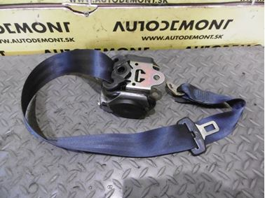 4B9857807 - Middle Rear Seat Belt - Audi A4 Avant 1998 - 2001 A6 1998 - 2005 A6 Allroad 2000 - 2005