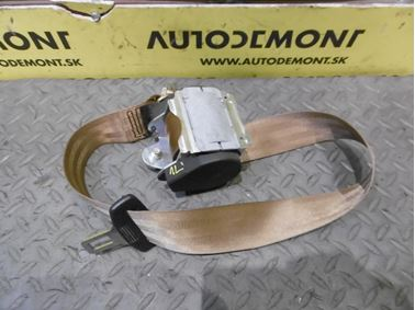 Right - Left Rear Seat Belt 4F0857805E - Audi A6 C6 4F 2006 Avant Quattro 3.0 TDI 165 kW BMK HVE