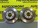 Rear brake discs 4F0615601E - Audi A6 C6 4F 2005 Limousine Quattro 3.0 TDI 165 kW BMK GZW